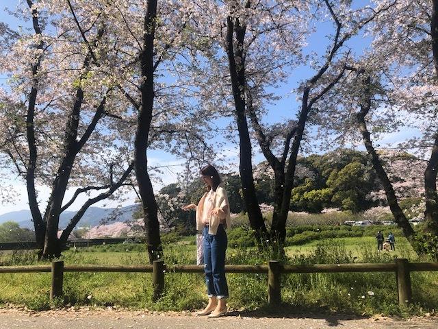 桜満開!お花見コーデ_1_10