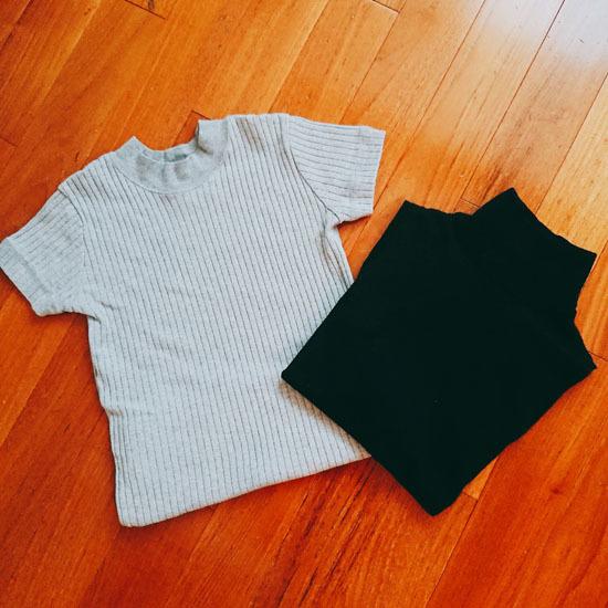 1ヶ月しか着ない半袖×秋色服は、プチプラで調達が賢い選択!_1_3