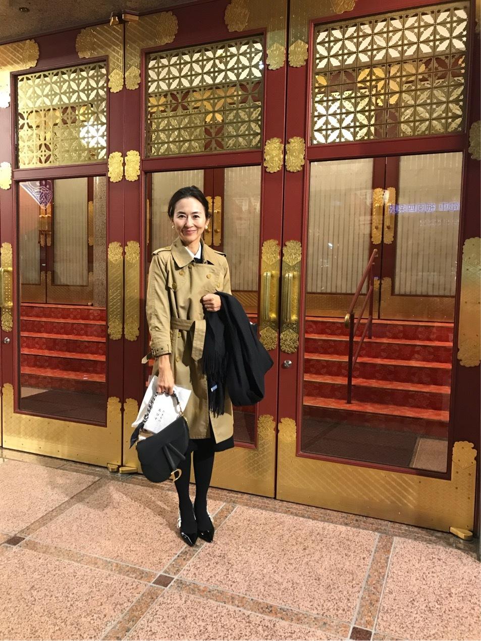 お気に入りのトレンチコートで京都へ♪_1_6-3