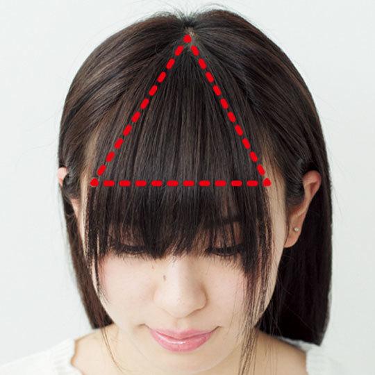 図解でよーくわかる! 小顔も叶う「アイドル前髪」の作り方_2_1-2