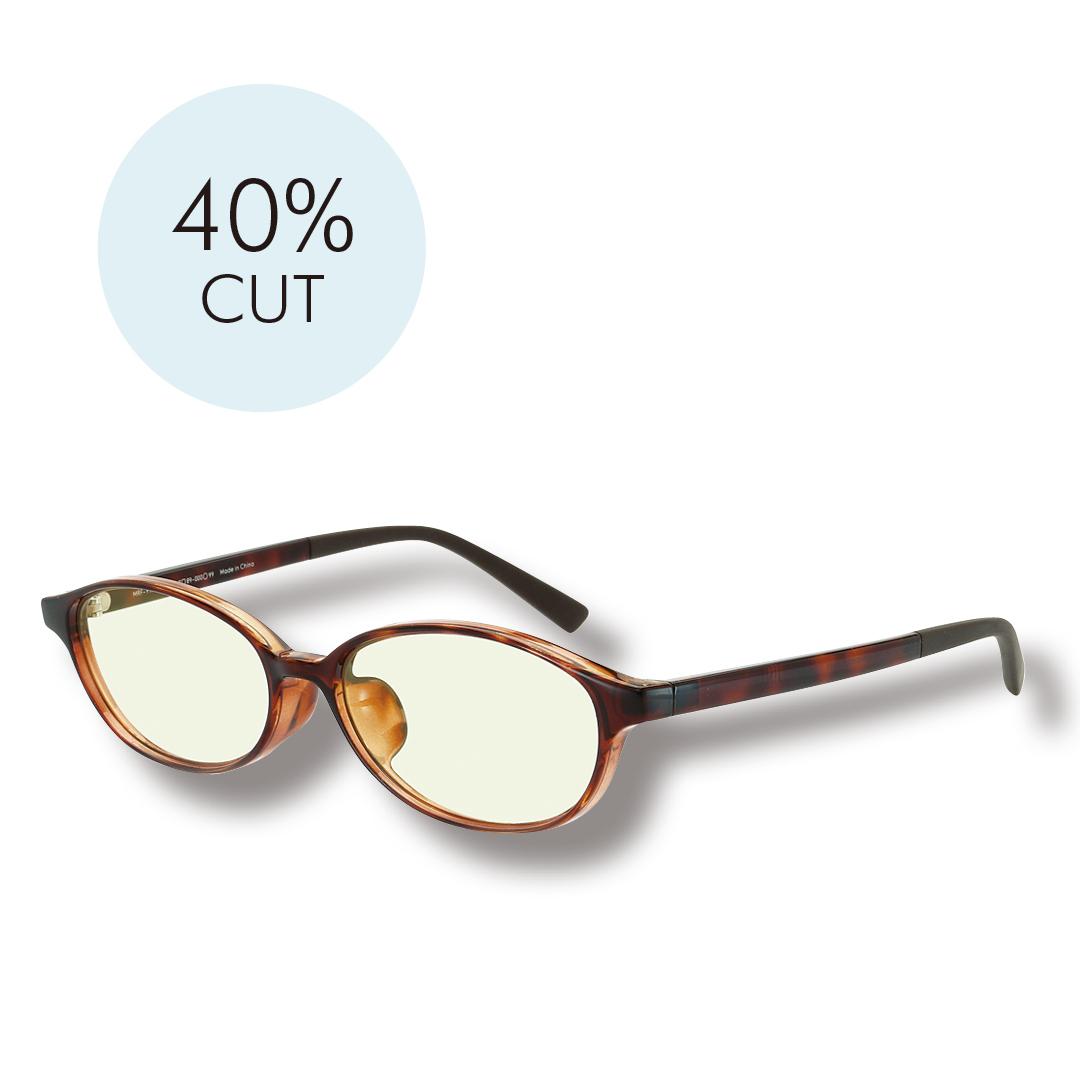 ブルーライトカット効果のあるメガネ、おしゃれにつけられるのはコレ!_1_3-2