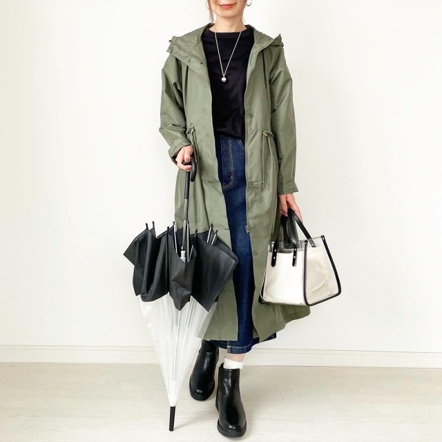 おしゃれの梅雨支度どうしてる? 40代が取り入れたい雨の日ファッションアイテムまとめ|美女組Pick up!_1_34