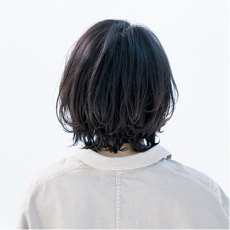 どんな髪質にも合う!動きのある毛先が華やかな外ハネボブ【40代のボブヘア】_1_1-3
