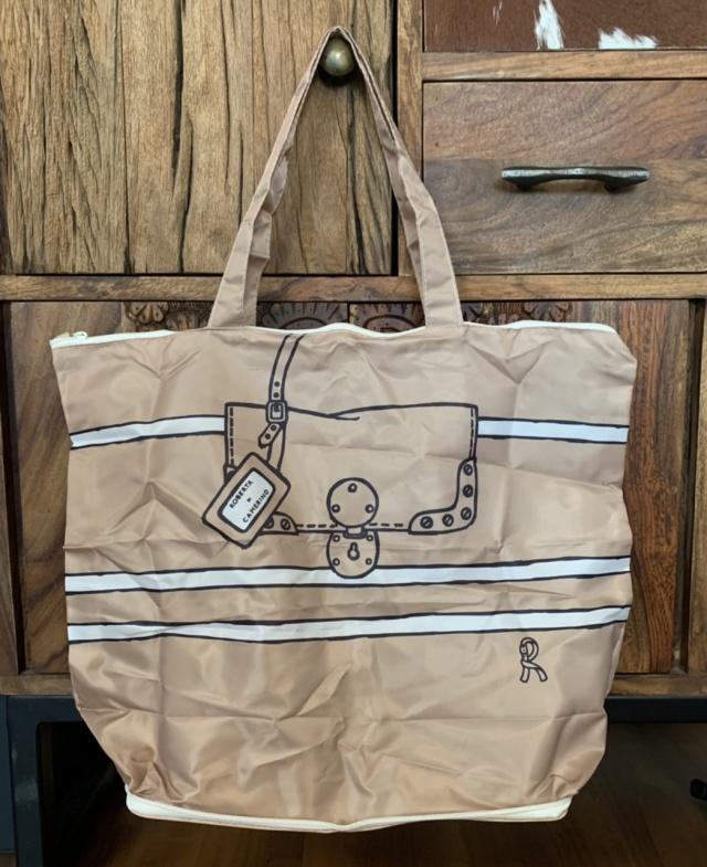 【付録紹介】第三弾!ロベルタ ディ カメリーノのトートバッグは、ファスナー付きに進化!_1_1