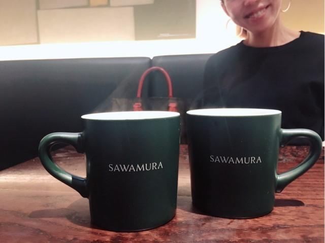奄美のチョコのおかげで美女組ランチ@SAWAMURA_1_3