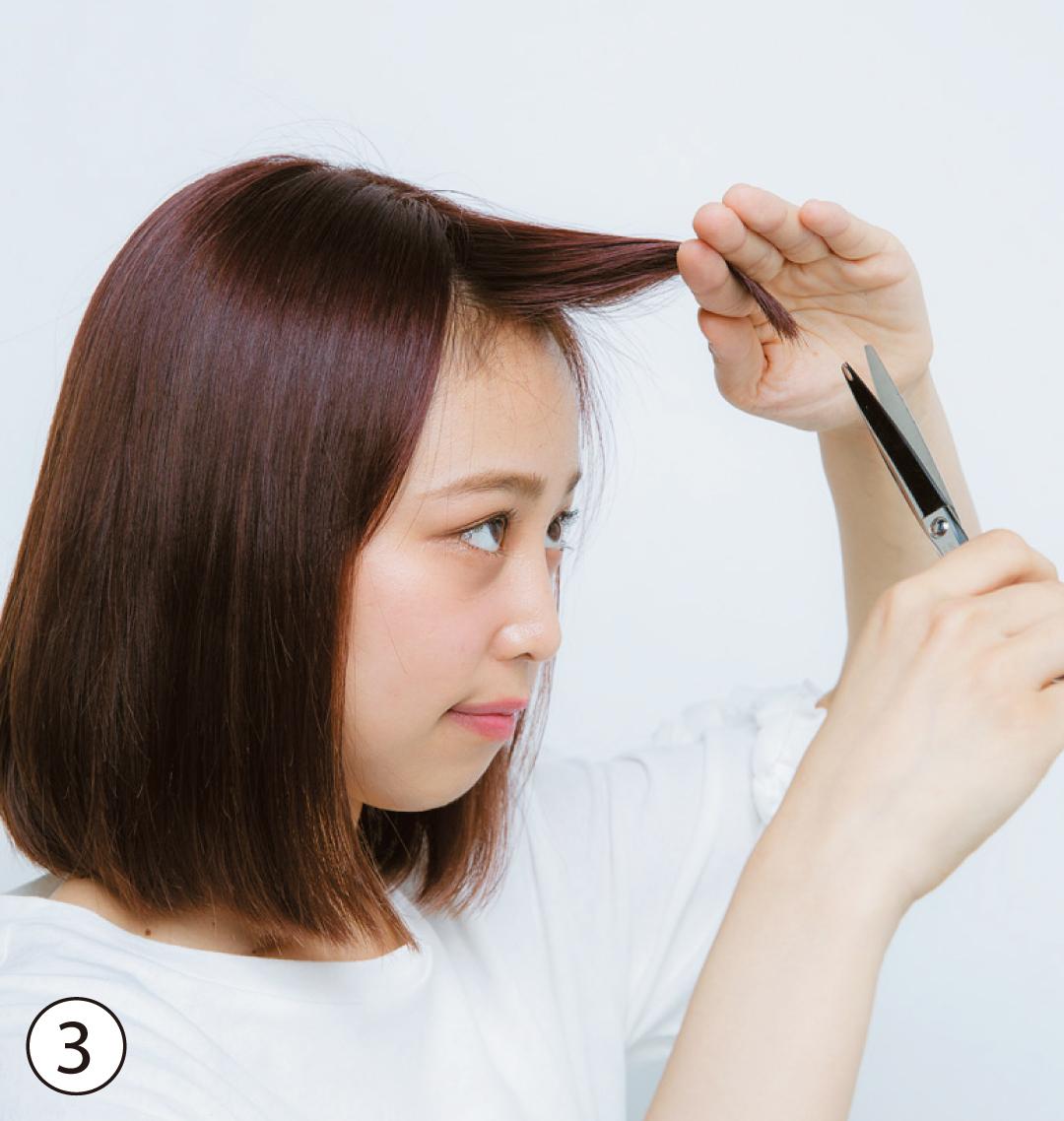 前髪だけで小顔♡ 渡邉理佐で実証&切り方の超丁寧解説つき!_1_5-3
