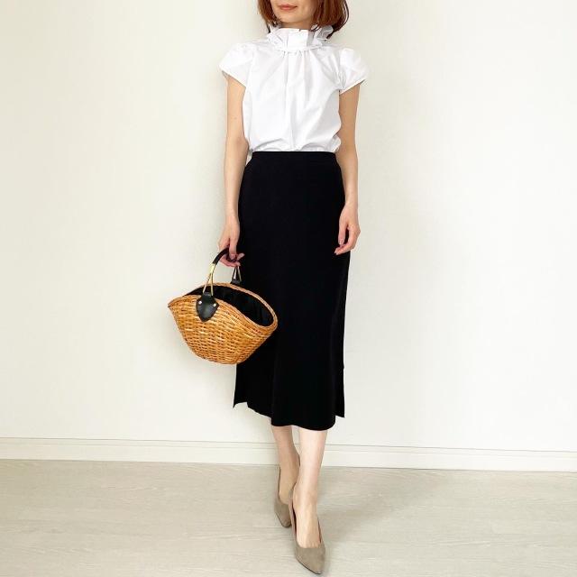 春の白シャツ4スタイル全てお見せします!【tomomiyuコーデ】_1_10