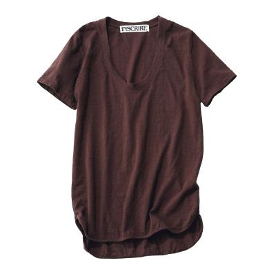 """デザインと素材に自信あり! 大人女性をきれいに見せる""""今年の指名買いTシャツ""""_1_2"""