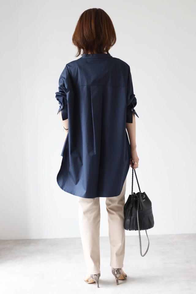 今着たい!コットン素材のオーバーサイズシャツ【tomomiyuコーデ】_1_6