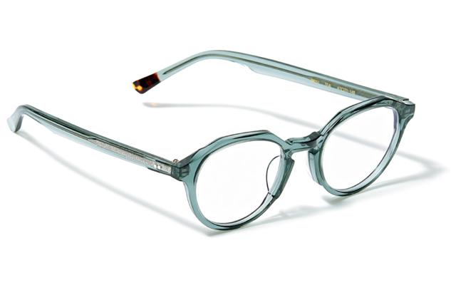 メガネ「BM001」¥33,000/ブラン