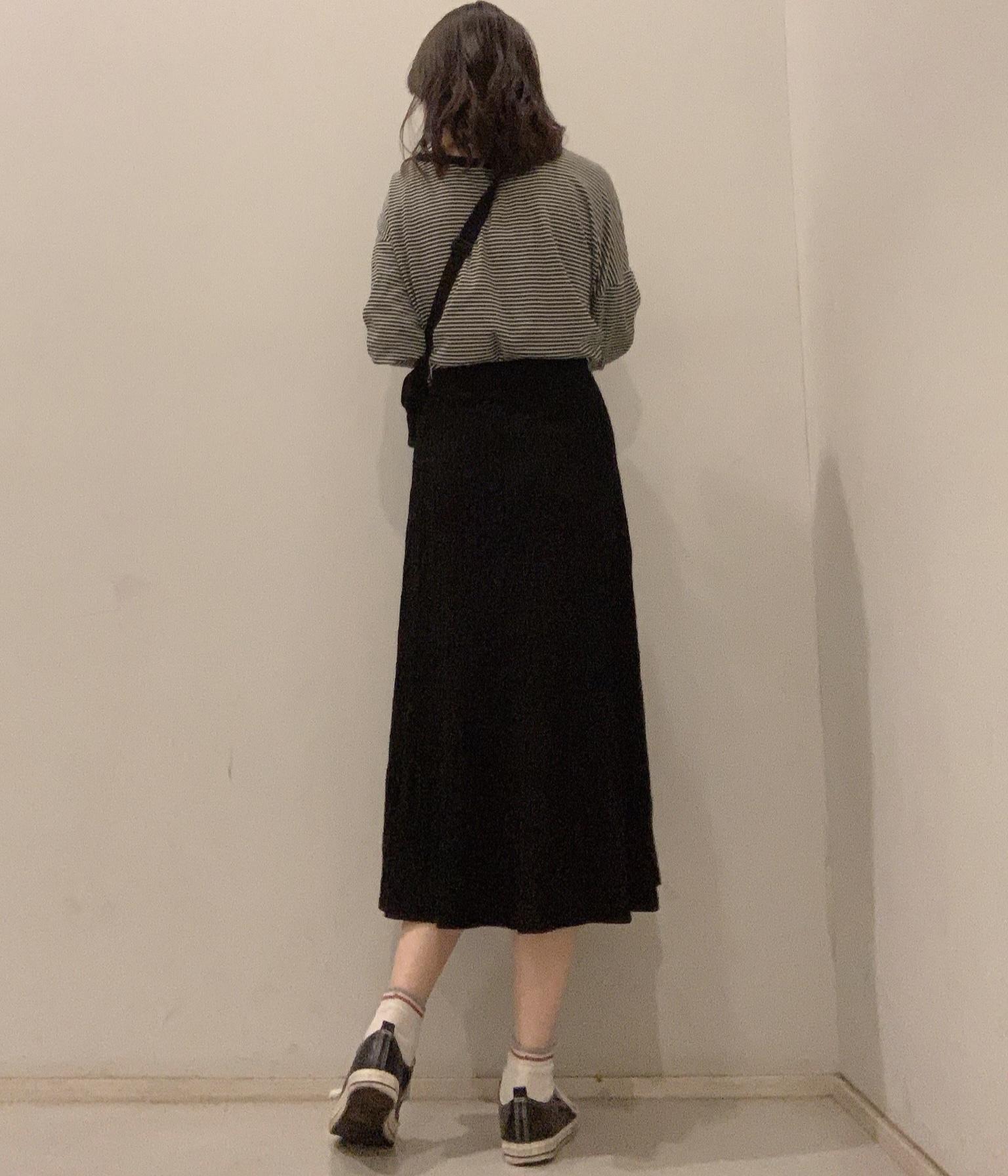【学校コーデ】ワントーンでゆるっとずるっとな今日の服。_1_3