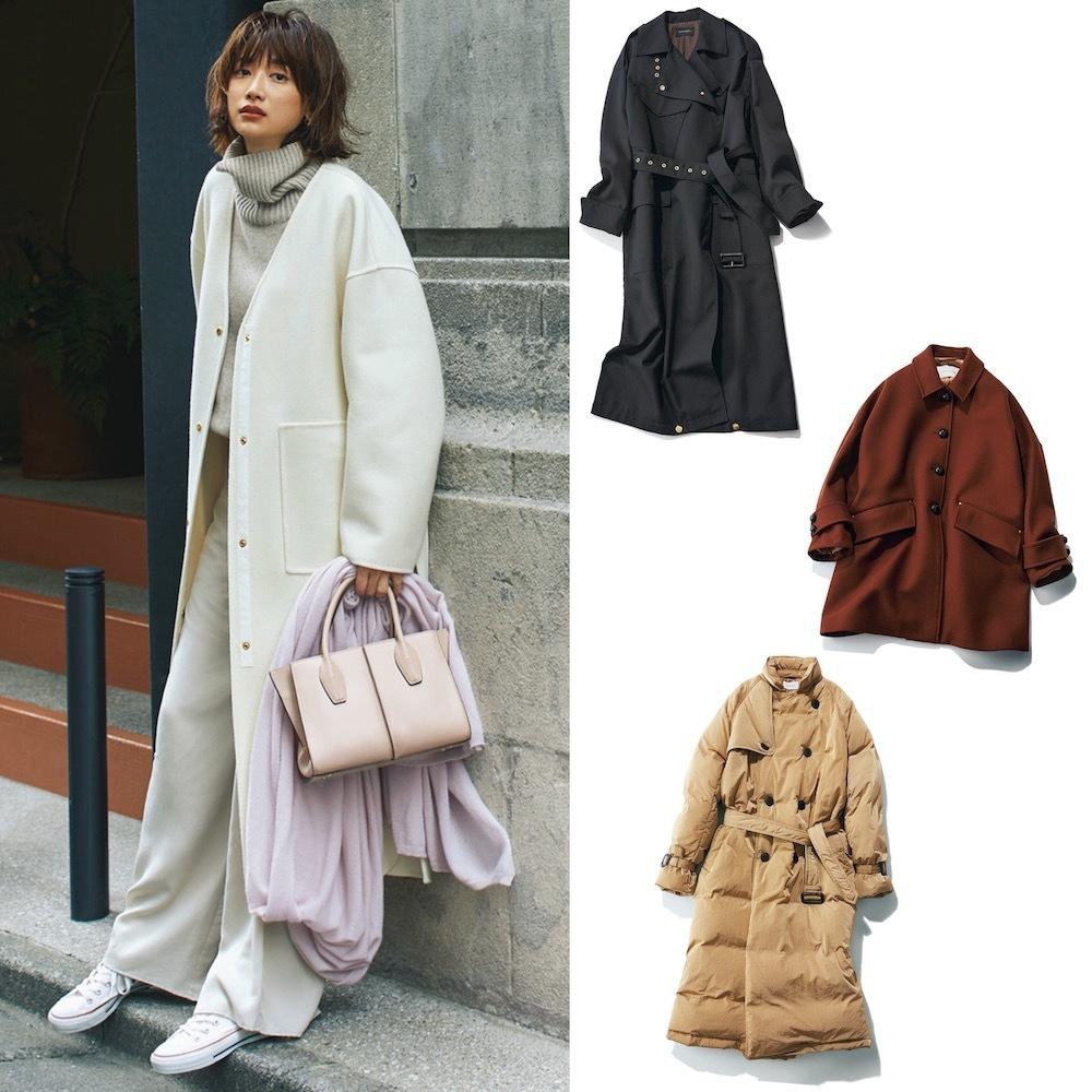 真冬を乗り切る、おしゃれプロ注目のコートまとめ【40代冬ファッション】