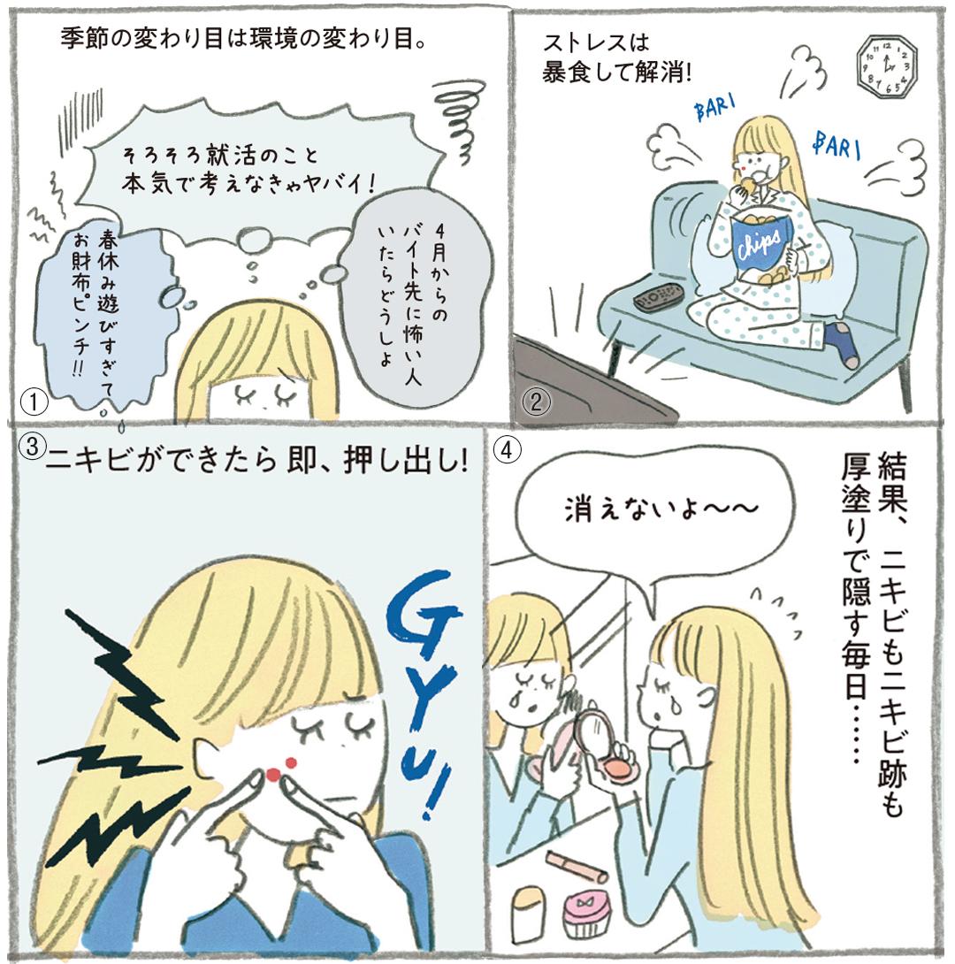ニキビのケア、NGとOKを美容家・石井美保さんが超ていねい解説!_1_4