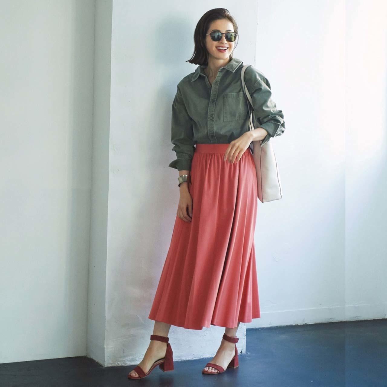 春こそ満喫!アラフォー向け着映えスカート6タイプ|40代レディースファッション_1_23