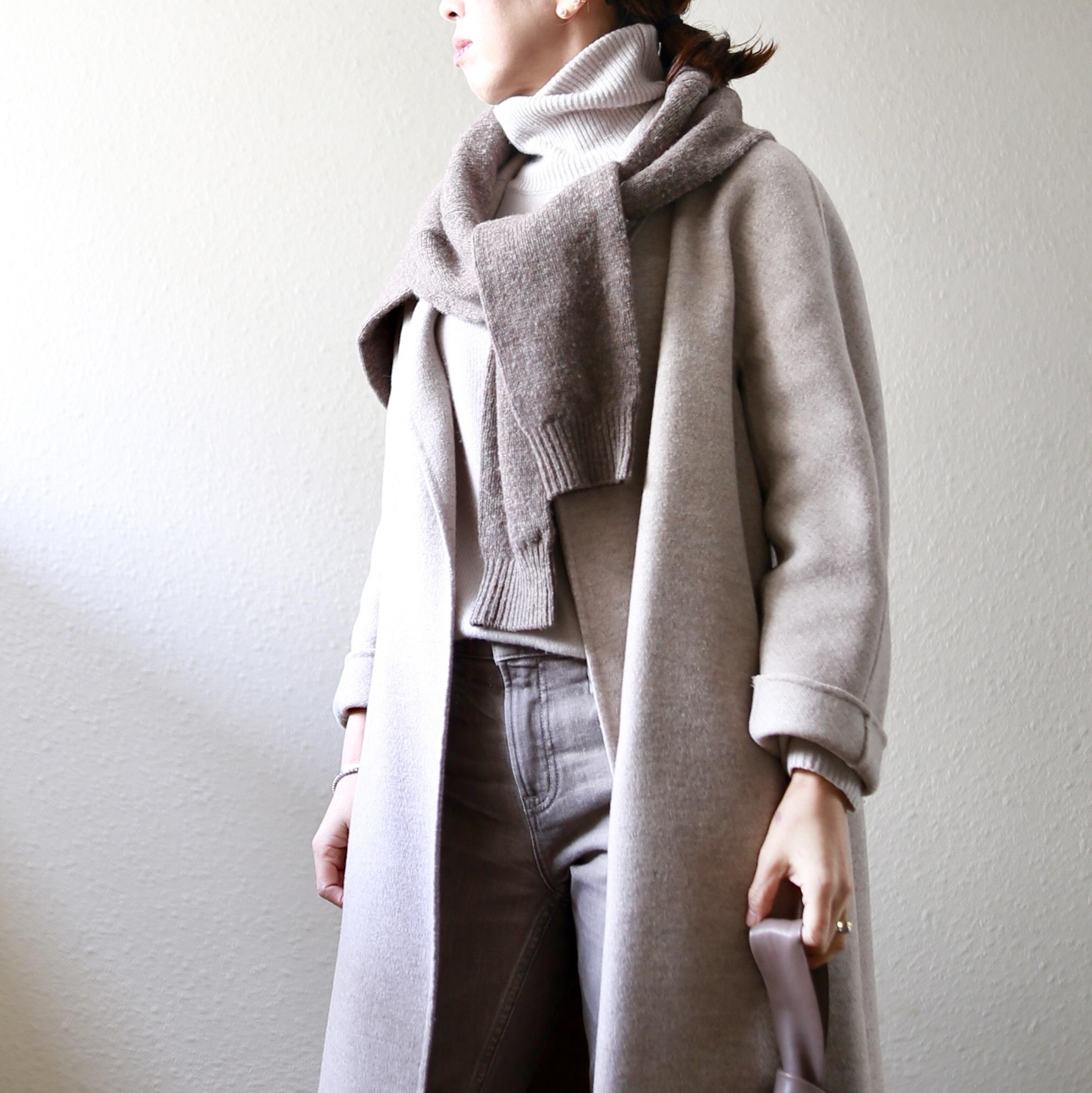身長低めさんのコート着こなし、サイズ選びより大事なのは?【小柄バランスコーデ術#01】_1_8