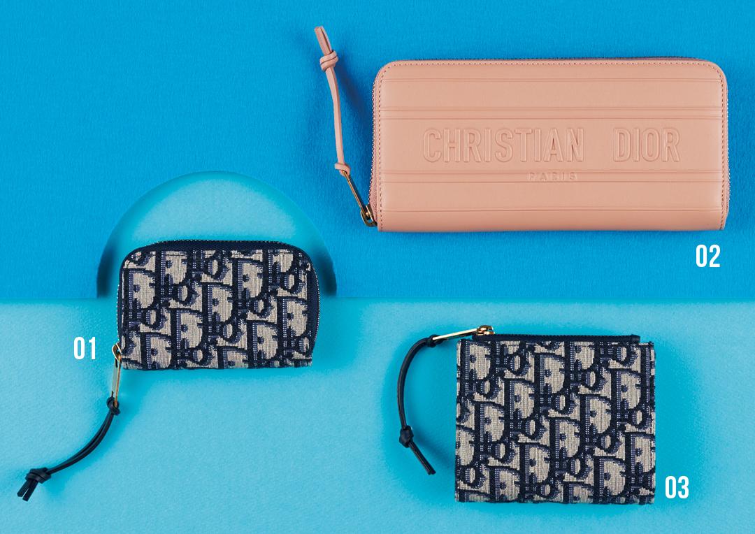 ディオールのミニ財布&長財布の最新★ 中も機能的!【水晶玉子さんの2020年開運アドバイスつき】_1_2