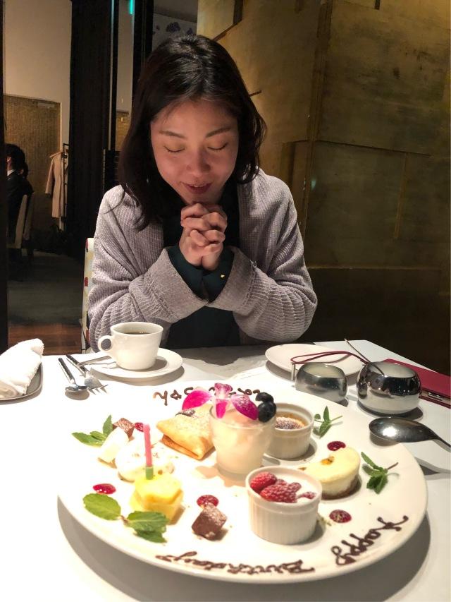 桜を見ながら birthday party♡_1_5-1