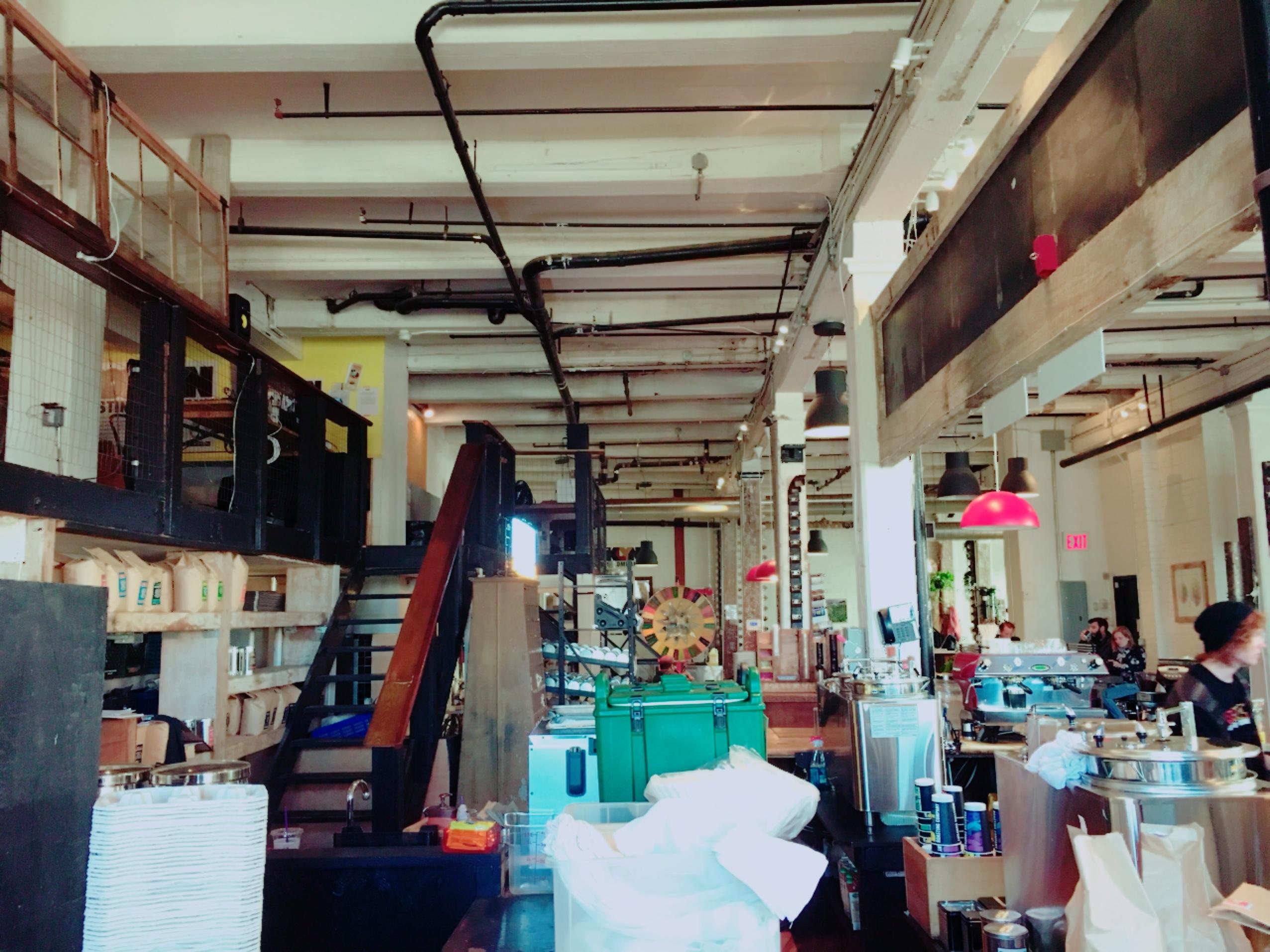 ブルックリン地区のコーヒー屋さん_1_1-2