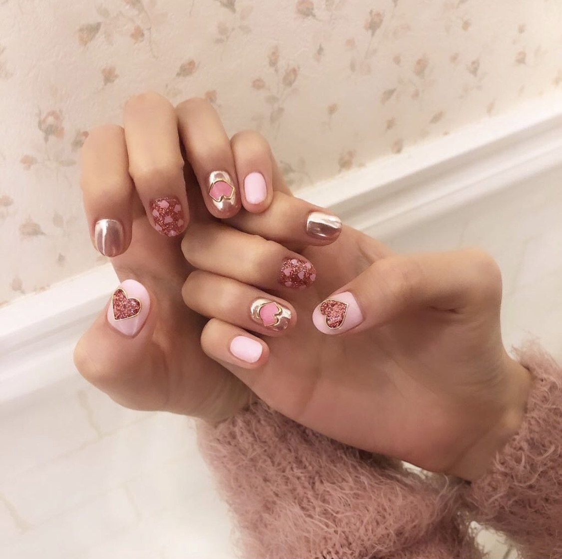 Vol.66♡【2019年冬】バレンタインのネイルデザイン♡_1_1