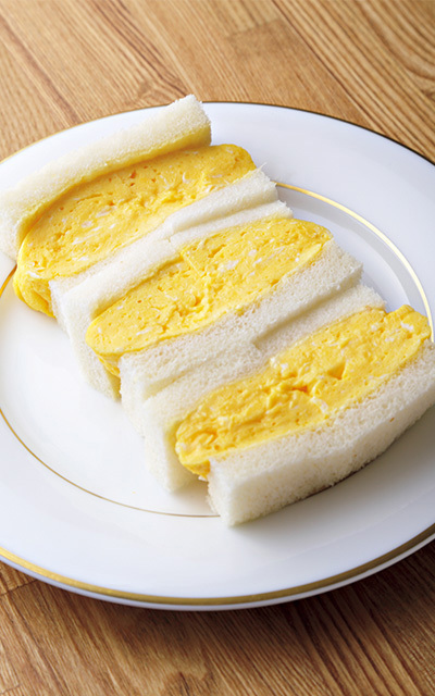フワフワな食感! グリルグリーンの「玉子サンド」【京都、あの店のあの一品】_1_1-1