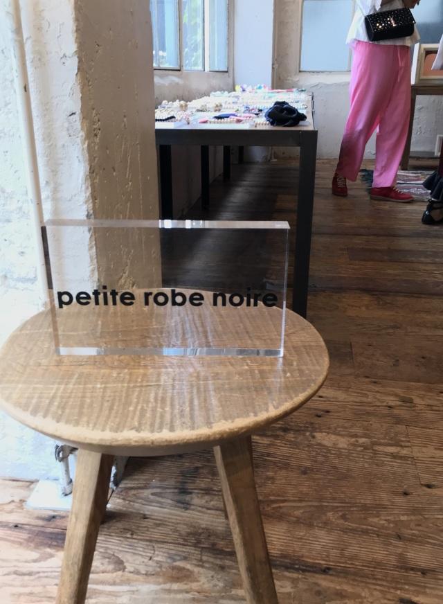 ブランド誕生10周年「petite robe noire」2019年春夏展示会 _1_1-1