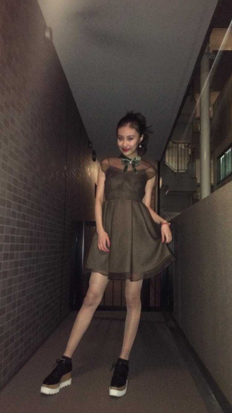 ちょっとしたパーティーなどに!可愛いワンピ♡_1_1