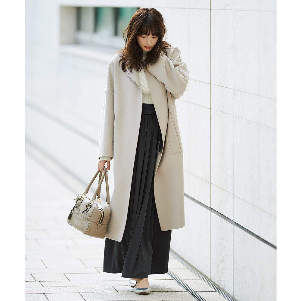 冬の着こなしを決めるアイテム「コート」をどう選ぶ? 3大女っぷりスタイル別着こなし_1_1-3