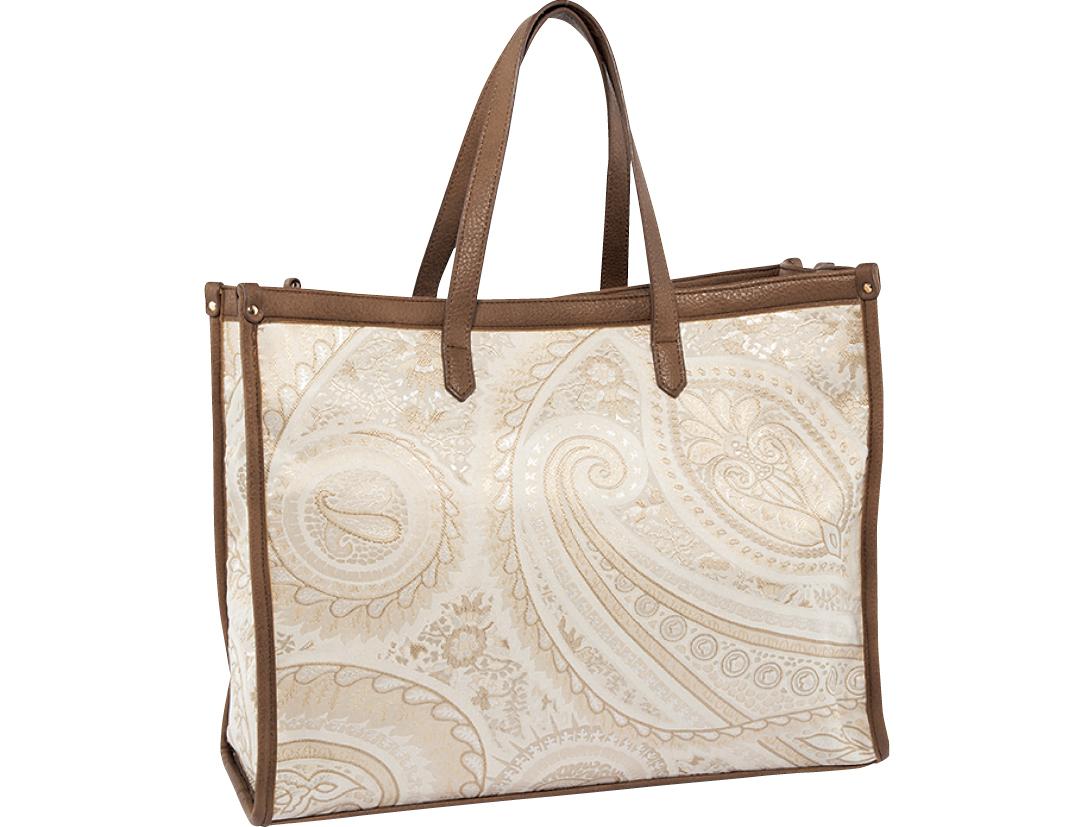 ViSのボックストートバッグ