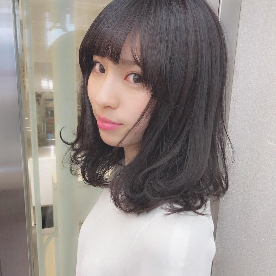黒髪女子必見♡ 透明感抜群カラー_1_5