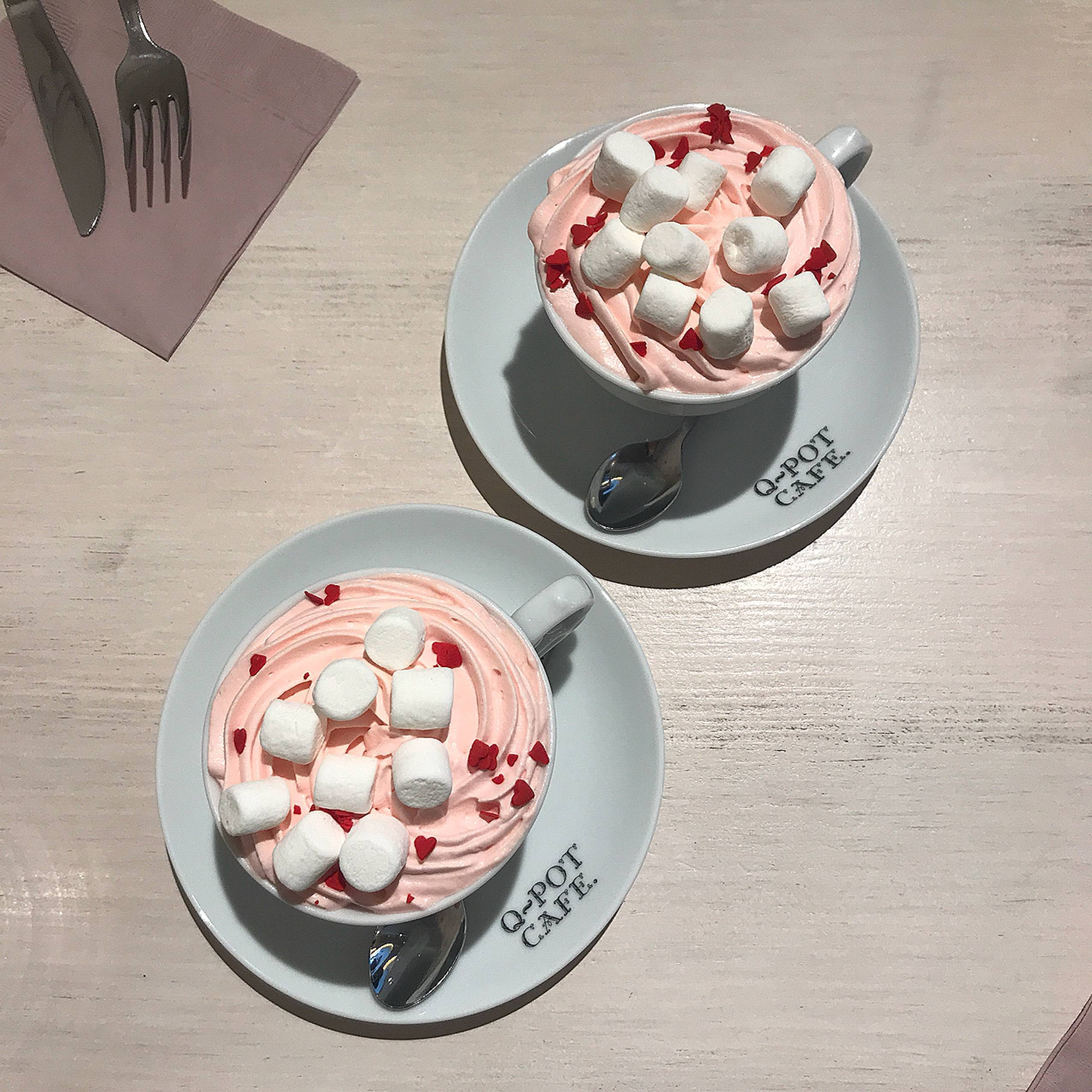 Vol.37♡ 可愛すぎる!Q-pot CAFE.のバレンタイン限定メニュー❤︎_1_4-1