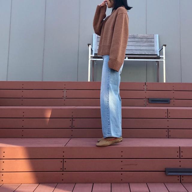 ファッション totemeのデニム