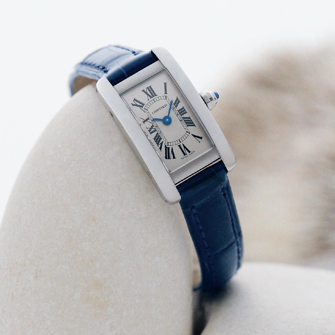 カルティエの時計「タンク アメリカン」