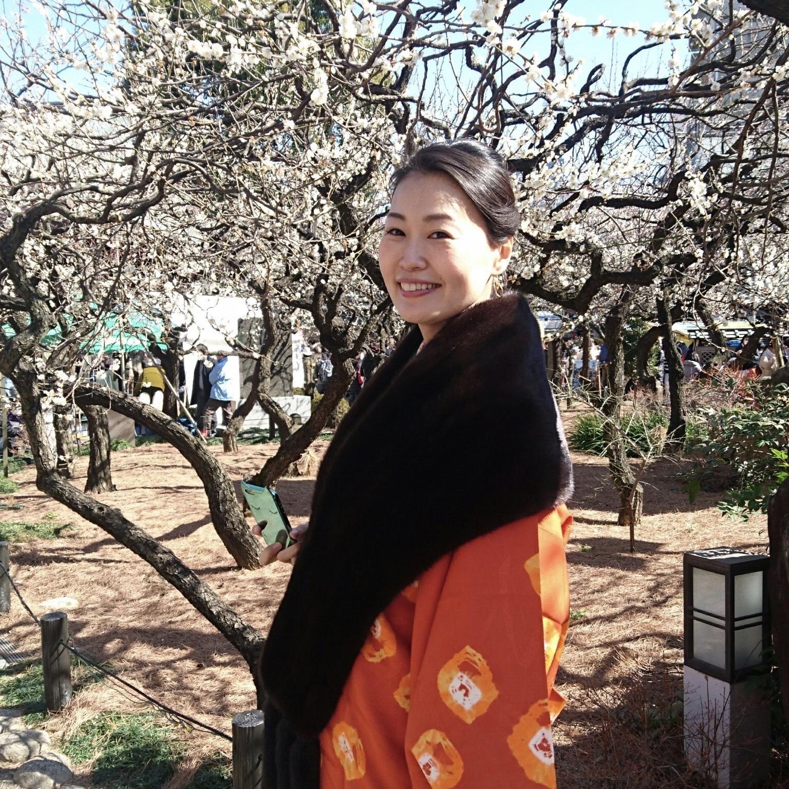 大島紬で下町さんぽ_1_2-1