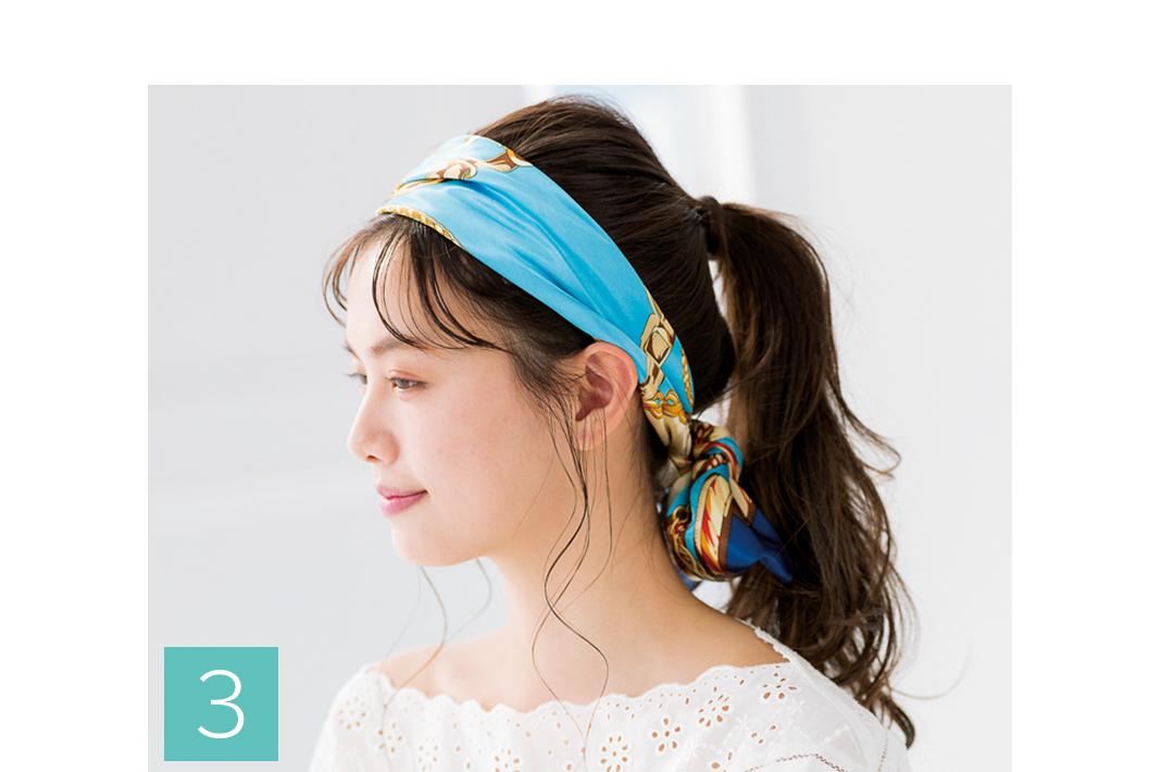 おでこが広くて、シースルー前髪がサマにならない…お悩みはヘアアレンジで解決!_1_2-3