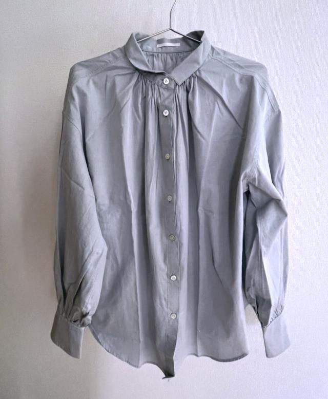 #Newans AUDREY/イタリアンカラーシャツ