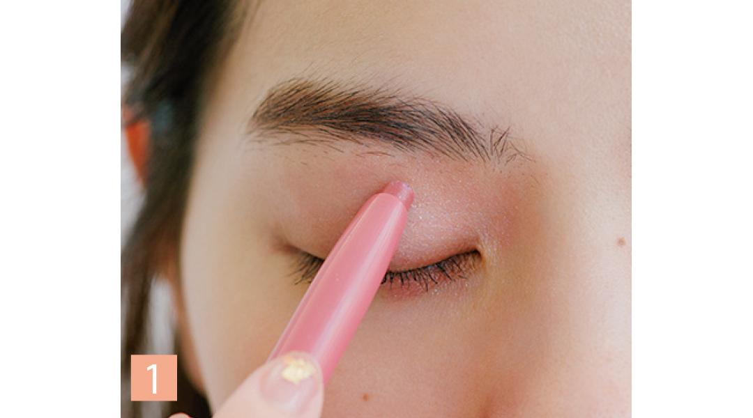 西野七瀬の+2℃メイク♡ 目と眉にじんわりピンクでおしゃれオーラが手に入る!_1_5