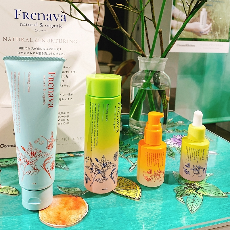 FRENAVAnatural&organicはコスメキッチンで先行発売