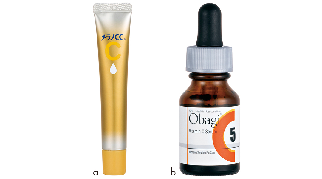 ロート製薬 メラノCC 薬用シミ集中対策 プレミアム美容液 、ロート製薬 オバジC5セラム
