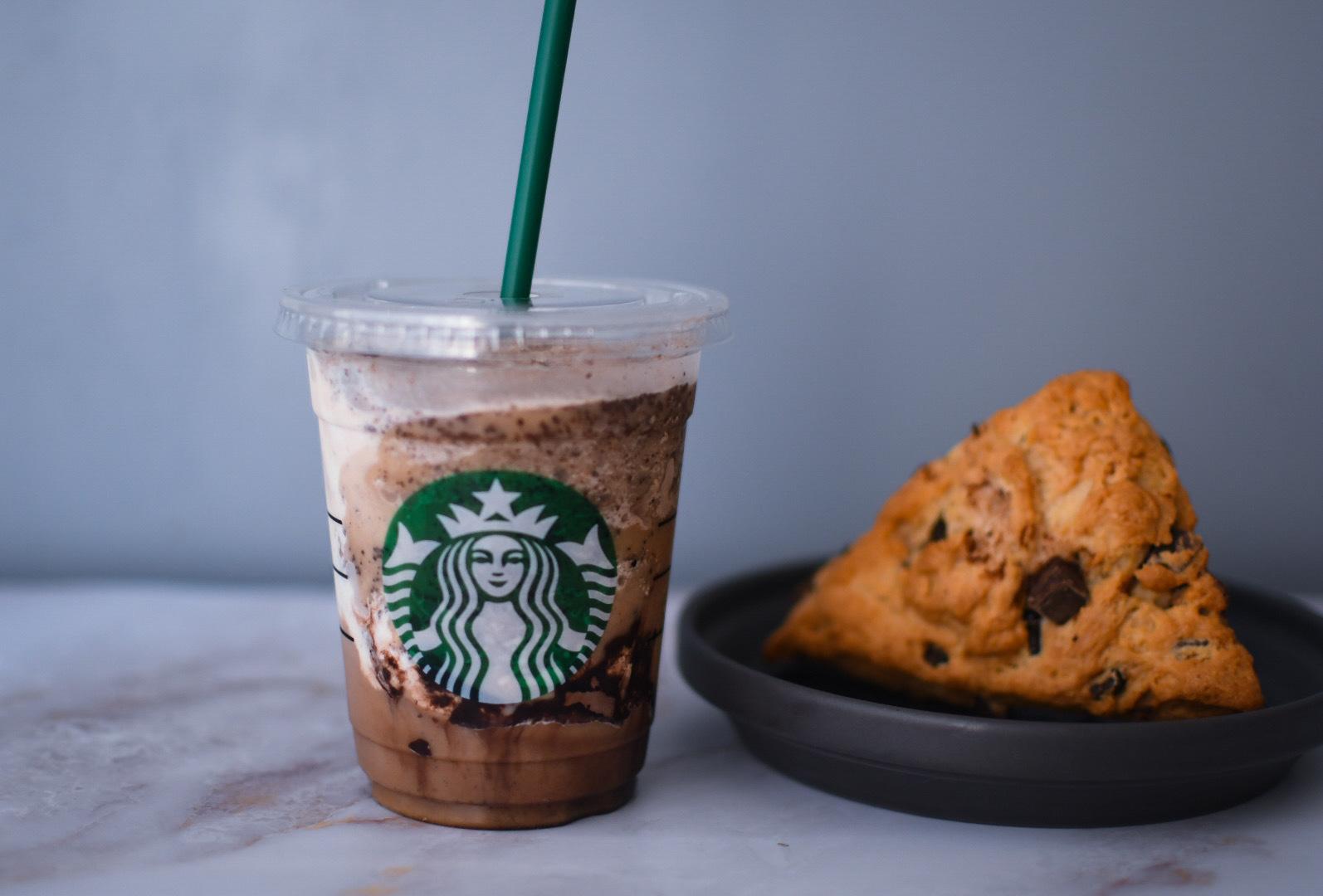 Uber Eatsでチャイオーダーしたスターバックスコーヒーの「チャイ チョコレート フラペチーノ®」