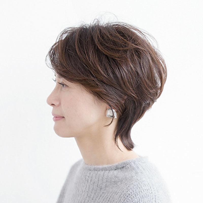 横から見た人気ショートヘアスタイル10位の髪型