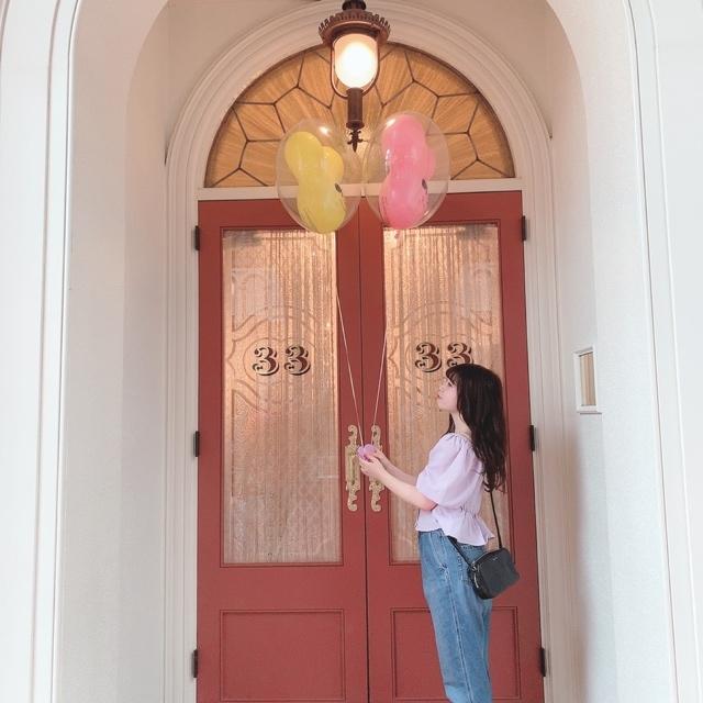 【 TokyoDisneyland 】風船が 、可愛いすぎる!_1_4-3
