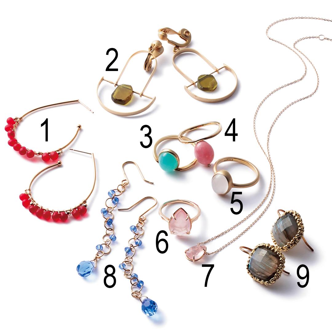 春になったら色石ジュエリー♡ リング&ピアス&ネックレスを選ぶならこれ!_1_4