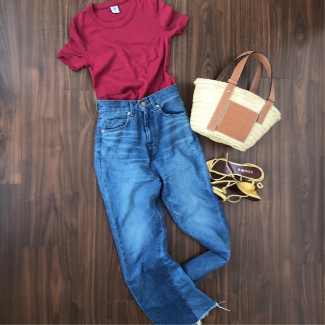 プチバトーの秋色Tシャツで、秋を先取り_1_2-1