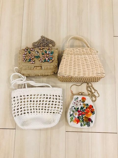 ZARAで買ったバッグたち