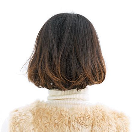 短め前髪とボブの相性◎ おしゃれ感度の高い女性像に【40代のボブヘア】_1_3