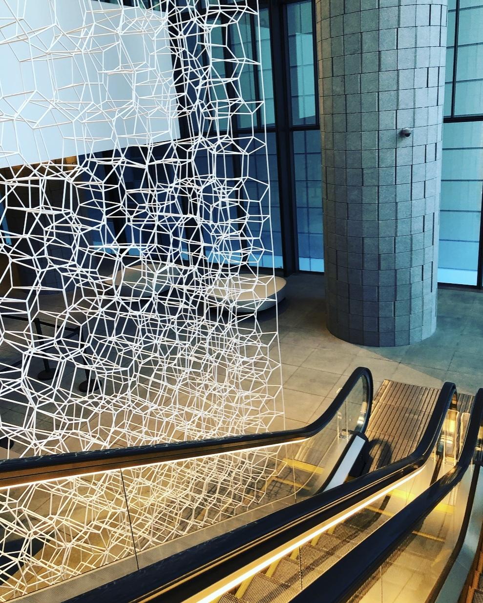 ペイズリー柄で、新しいアーティゾン美術館へ_1_2-2