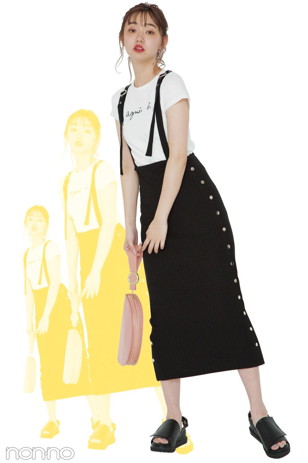 #マイベストイレブン★江野沢愛美の夏私服コーデ「まなみふく」_1_1-2
