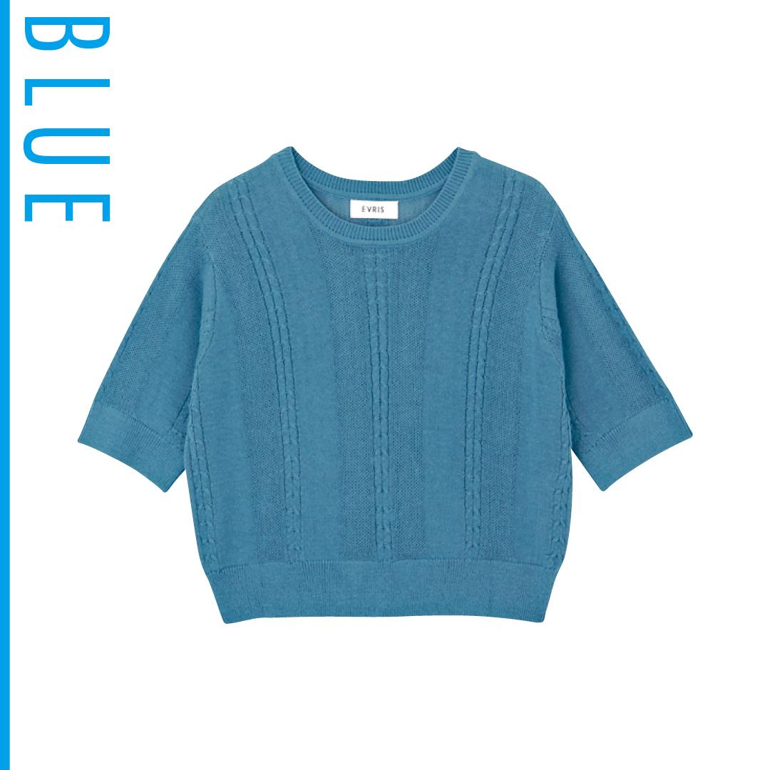 夏のブルーは新木優子がお手本! 肌の透明感が際立つ推し色コーデを披露_1_3-2