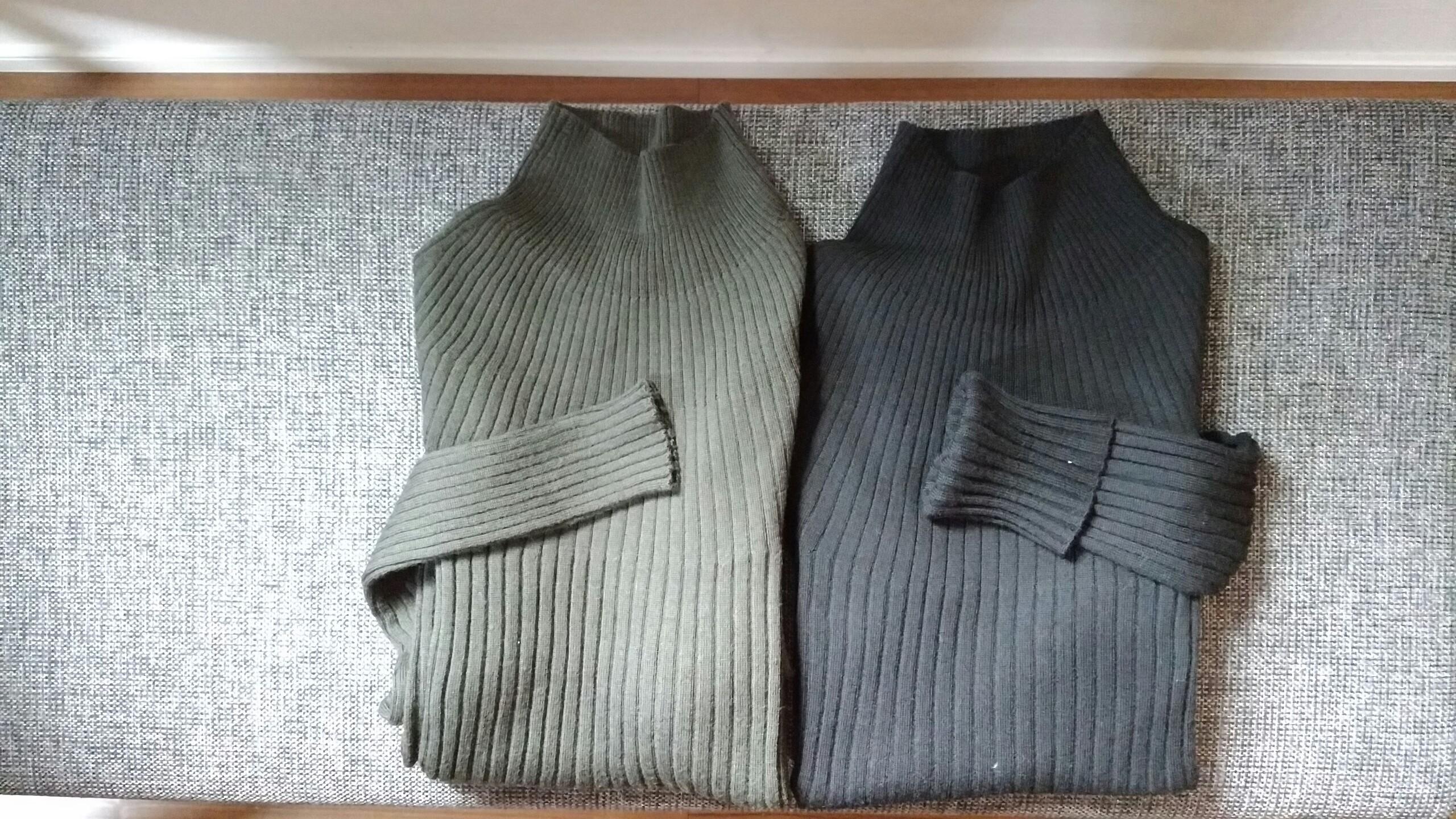 3D UNIQLO U メリノリブモックネックセーター