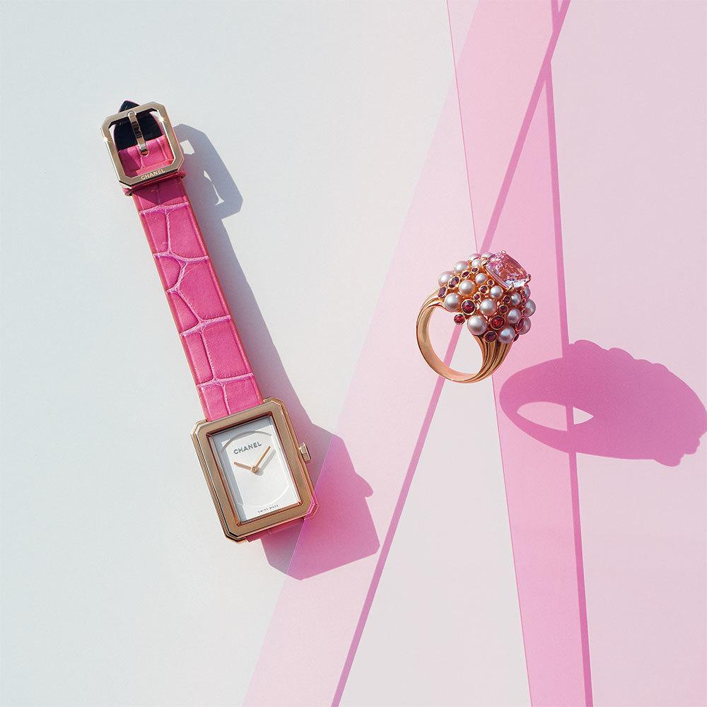 気分の上がる色といつでも一緒「ピンクのジュエリー&ウォッチ」_1_1